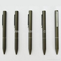 金属钢圆珠笔中性笔