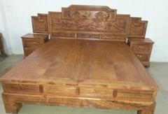 紅木清式傢具  臥室系列  床