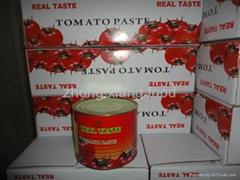 Top quality tomato Paste 100% tomato sauce