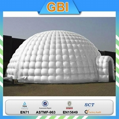 Inflatable tent for advertising supplier