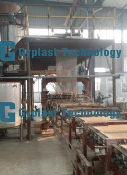 Paperless gypsum board plant (China Manufacturer