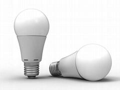 温州LED  A60   光面塑包铝球泡