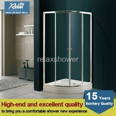 2014 free standing glass shower enclosure