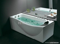2014 hot sell cheap massage bathtub hinoki wood