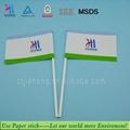 Paper stick for decorating cocktail flag stick