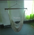 Polyester rope hammock chairs with