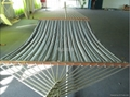 1.5m*2m quilted hammock with wooden bar ,pillow with or not 3