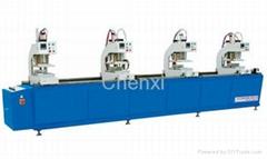 SHZ4-4500 uPVC/PVC Windows and Doors Four Heads Welding Machine