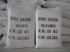 99.5% 99.8% Purity Zinc Oxide for Rubber and Pigment Manufacturer from China