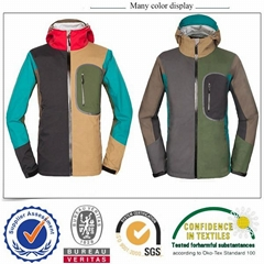 Basic style waterproof outdoor jacket for ski