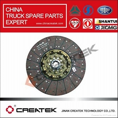CREATEK China HOWO  truck parts Clutch disc