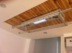 electric ceiling coat racks