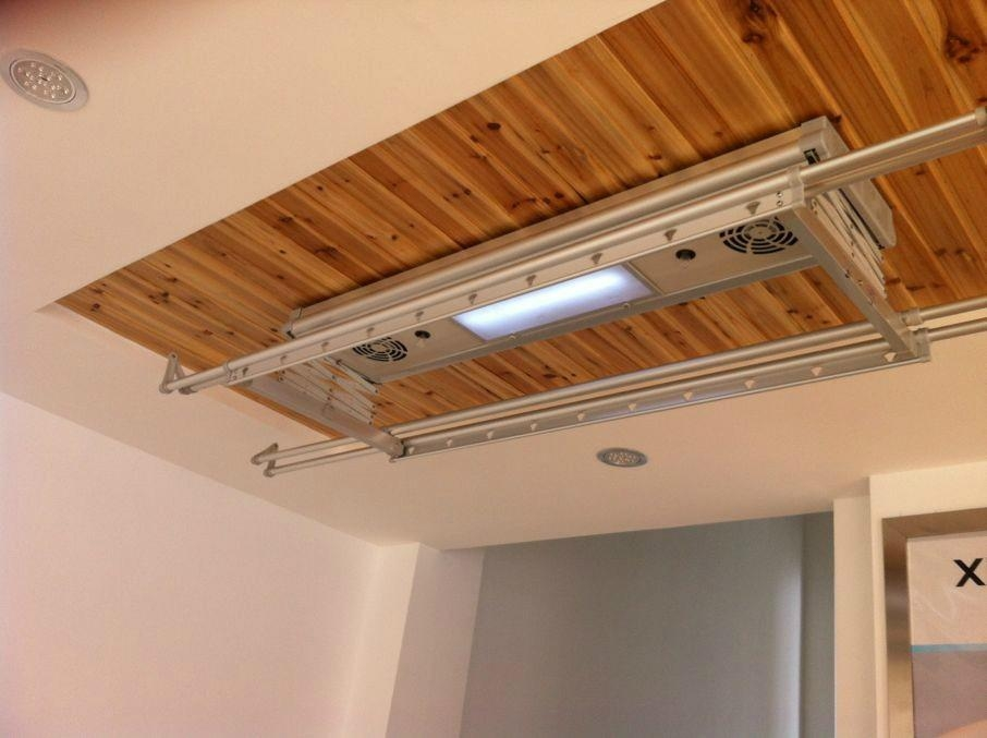 electric ceiling coat racks 1