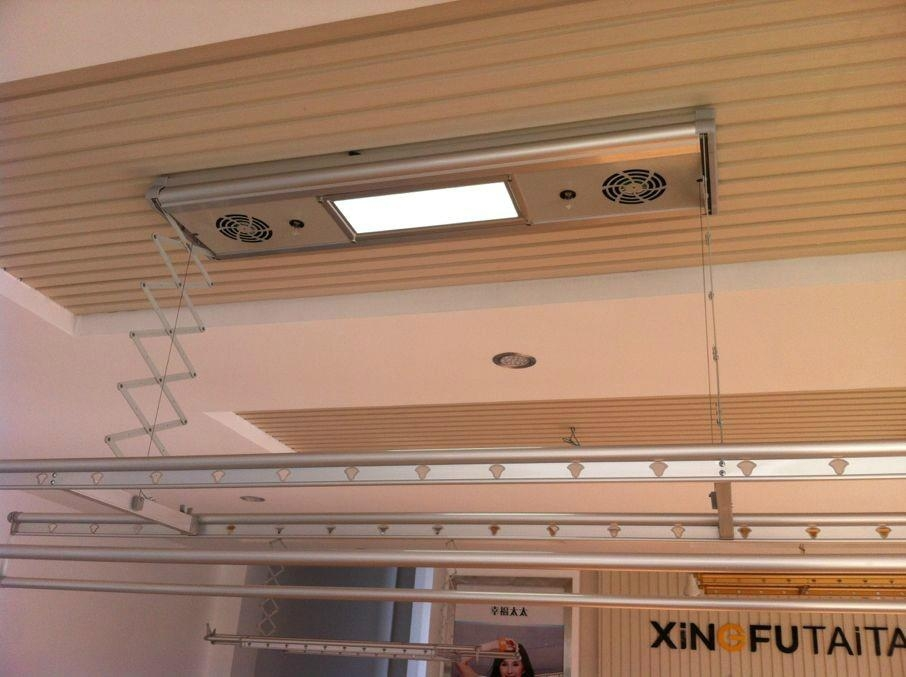 electric ceiling coat racks 2