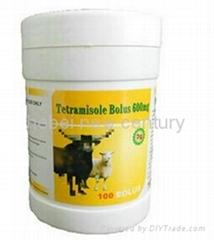 Animal and veterinary pharmaceutical madicine Tetramisole Bolus
