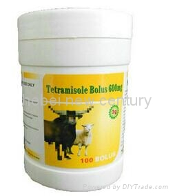 Animal and veterinary pharmaceutical madicine Tetramisole Bolus   1
