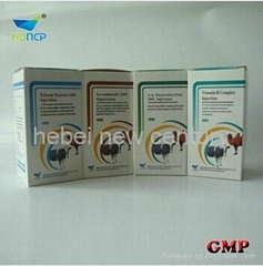 Gentamycin Sulfate Injection 10% INDICATED FOR bacterial origin GETION CHINA