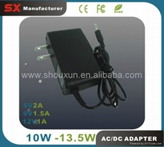 9V 1.5A Power Adapter Battery Charger OEM Welcome