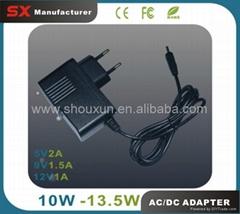 Wholesale 5000pcs/lot 1.5A 9V DC Adapter Mobile Charger CE FCC ROHS