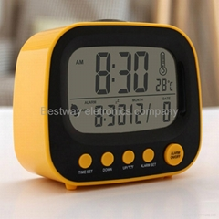 Hot Product Lcd alarm clock digital clock tv clock