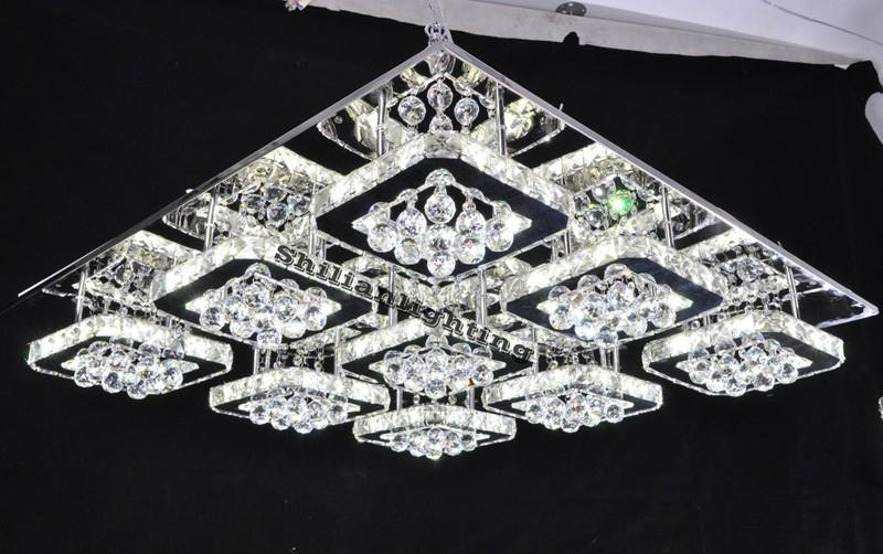 china manufacturer crystal ceiling lamp 2