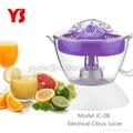 Plastic citrus juicer