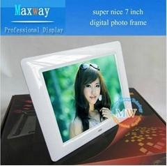 "Super nice 7"" digital photo frame lcd"