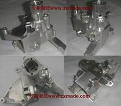2  Machine and Auto parts rapid prototype  cnc milling China top 10