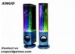 Hot Led Large water dancing speaker fountain speaker