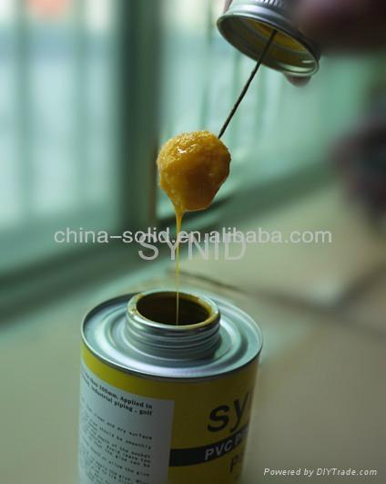 PVC pipe glue 1