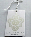 2013 high quality paper hang tags for