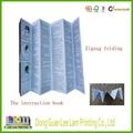 High quality Zigzag folding board book