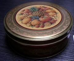 Dried fruit tin box