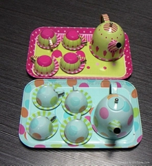 Children's toys tea set