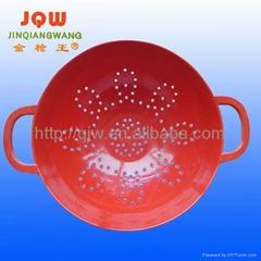 unique melamine hollow out fruit bowl dinnerware