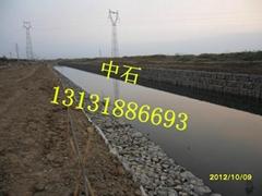 河道護坡格賓石籠
