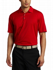 High quality 100% polyester polo tshirt