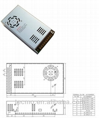 15W-800W LED Power Supply