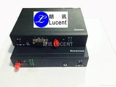 朗訊VGA視頻光端機