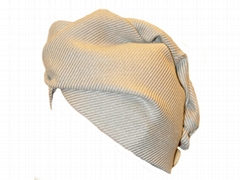 Hair drying twist towel 100% linen