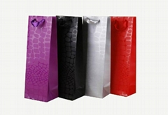 shopping bag & wine bag with UV