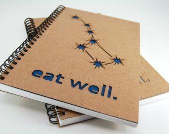 kraft paper cover notebook & spiral wire notebook 1