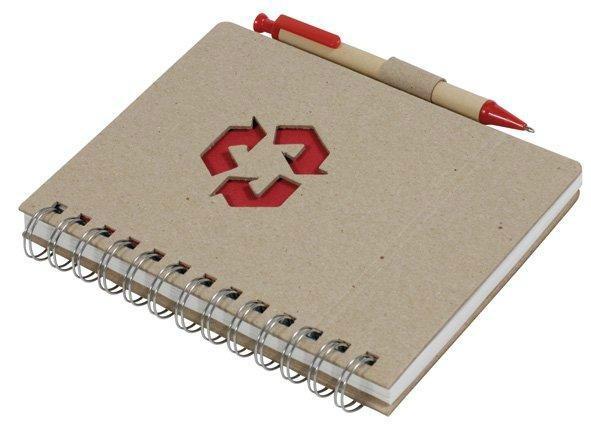 kraft paper cover notebook & spiral wire notebook 2
