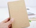 kraft paper cover notebook & spiral wire notebook 3