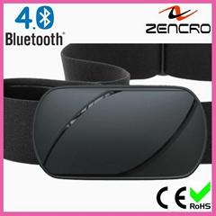 Waterproof Chest Belt Bluetooth Heart Rate Monitor