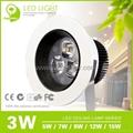 Epistar35 LED Ceiling Lamp with 3W/5W/7W