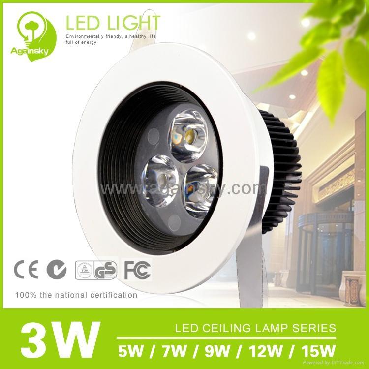 Epistar35 LED Ceiling Lamp with 3W/5W/7W/9W/12W 1