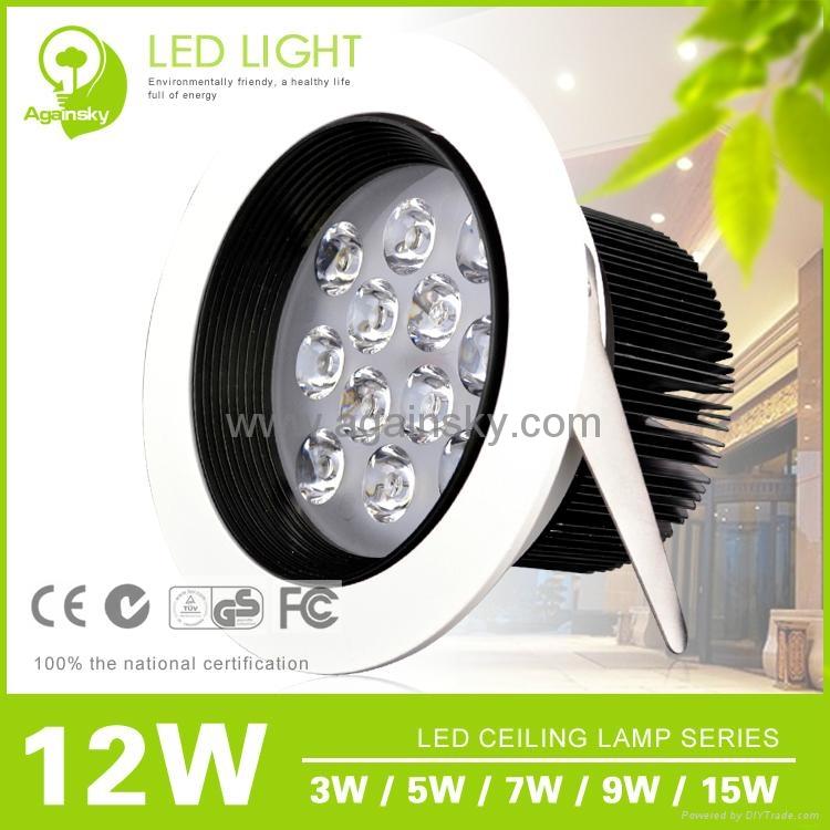 Epistar35 LED Ceiling Lamp with 3W/5W/7W/9W/12W 3