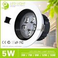 Epistar35 LED Ceiling Lamp with 3W/5W/7W/9W/12W 4