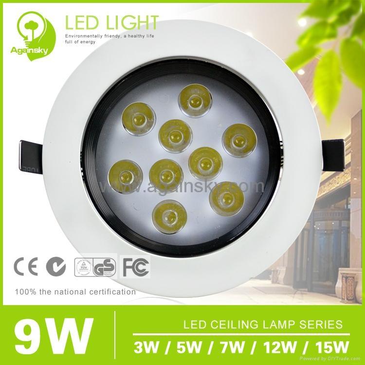 Epistar35 LED Ceiling Lamp with 3W/5W/7W/9W/12W 5